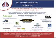 We're attending Bright Maize Open Day!!