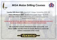 MGA Drilling Courses