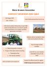 Harvest Webinar